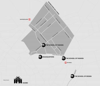 Istituto Marangoni Milano: район нового кампуса