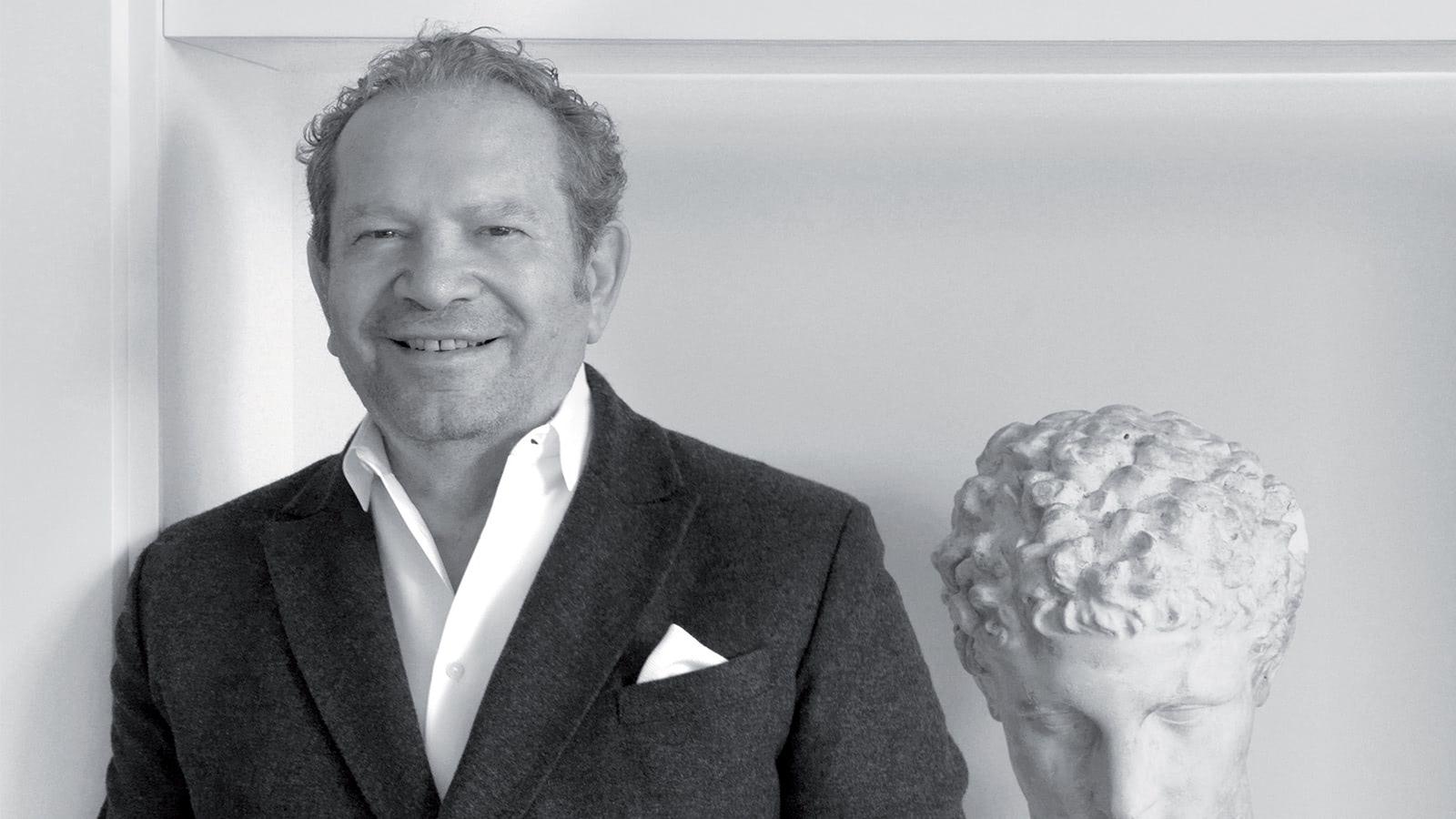 Istituto Marangoni: бренд-амбассадор Эрманно Шервино